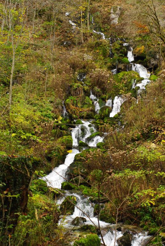 Cascade des Gorges de Covatannaz - Canton de Vaud - Suisse