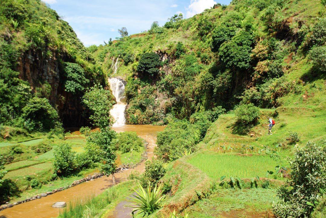 cascades d'Antafofo - Betafo - Madagascar