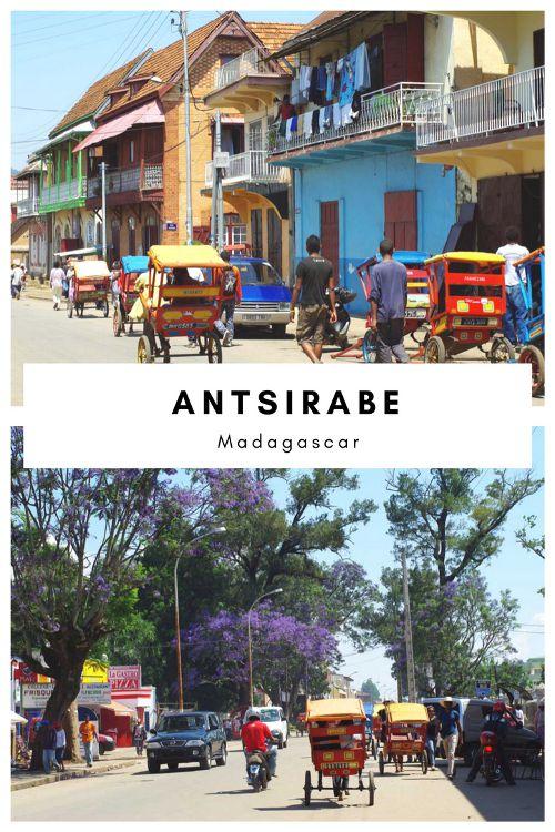 Visite de de la ville d'Antsirabe à Madagascar