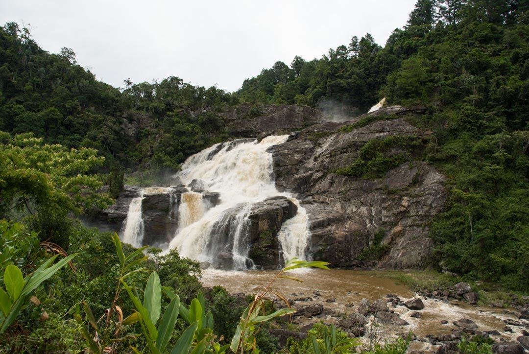 Cascade dans le parc national de Ranomafana - Madagascar