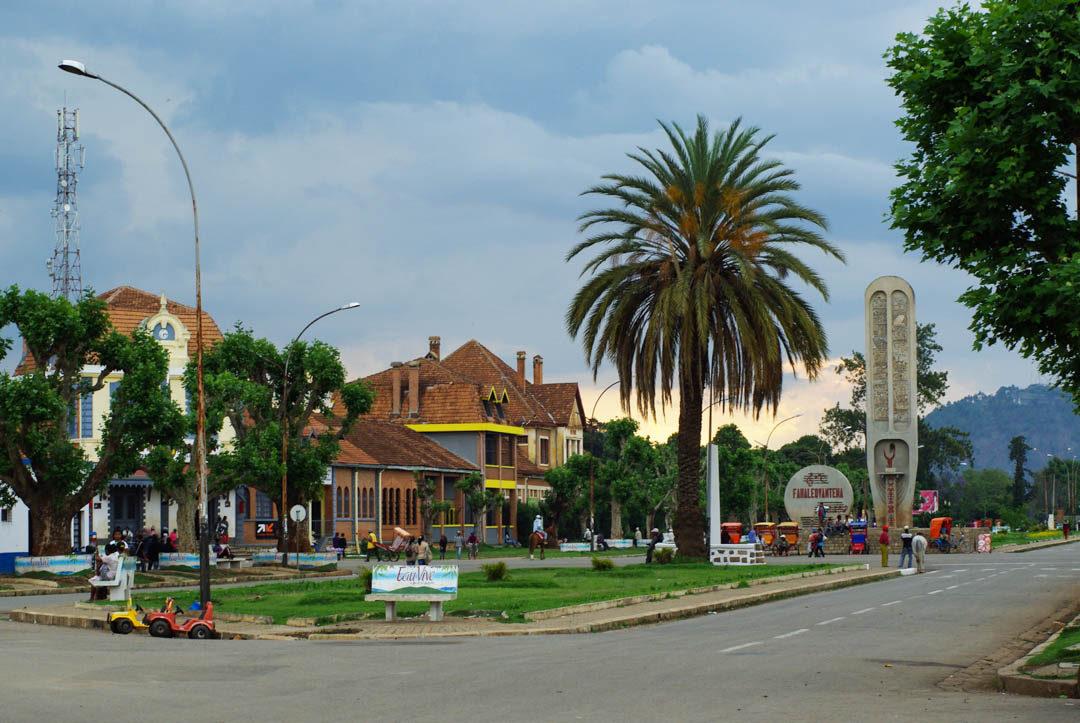 centre-ville d'Antsirabe - Madagascar