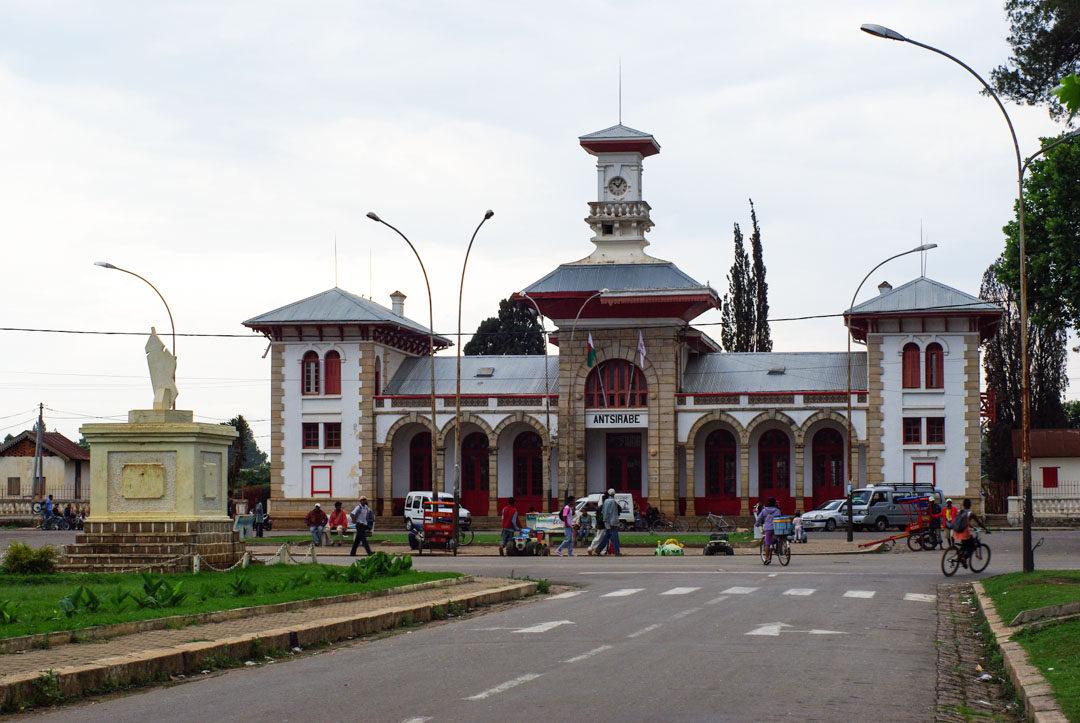 La Gare d'Antsirabe à Madagascar
