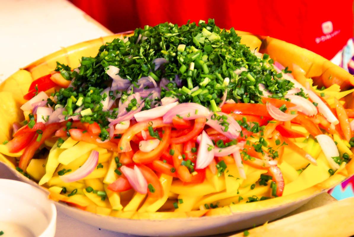 Recette malgache : salade de mangue