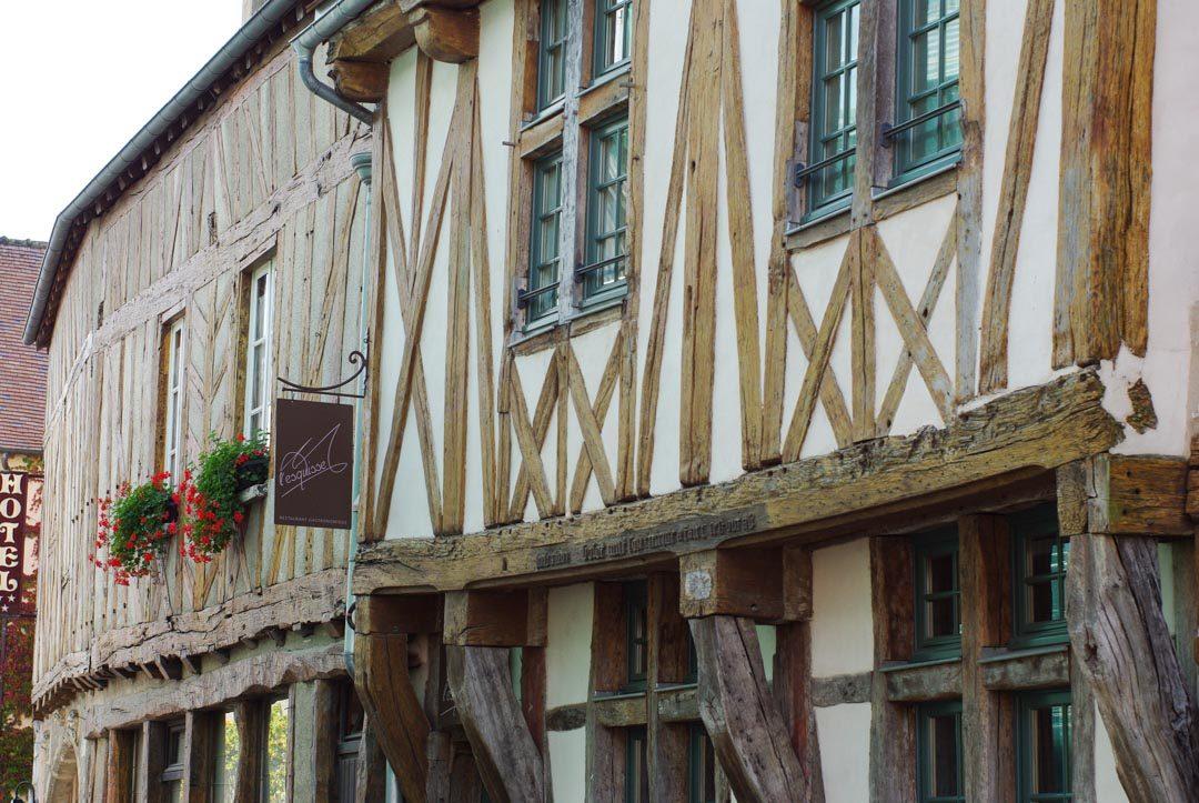 maison à colombages - Provins