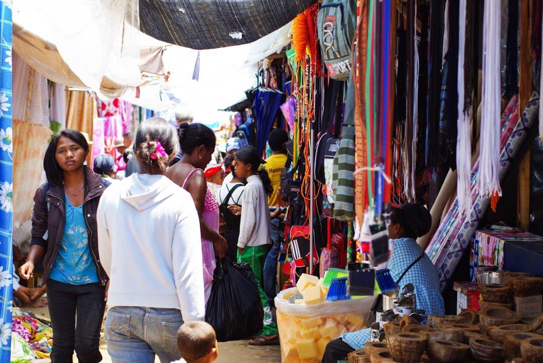 Marché Satbosy, le plus grand marché de Madagascar à Antsirabe