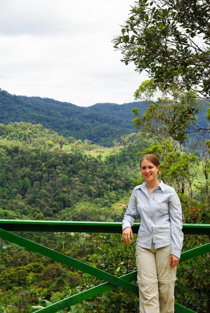 Point de vue sur le parc National de Ranomafana - Madagascar