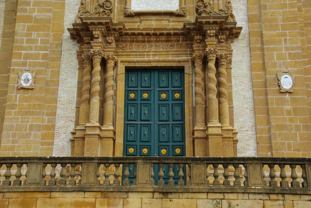 Portail du Duomo de Piazza Armerina