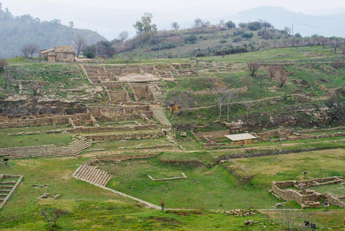 Les fouilles de Morgantina
