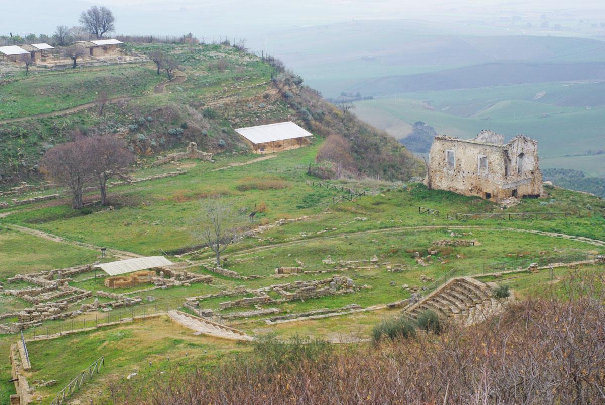fouilles de Morgantina - Sicile