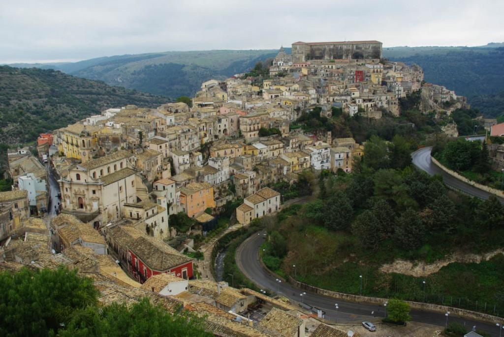 Vieille ville de Raguse - Sicile