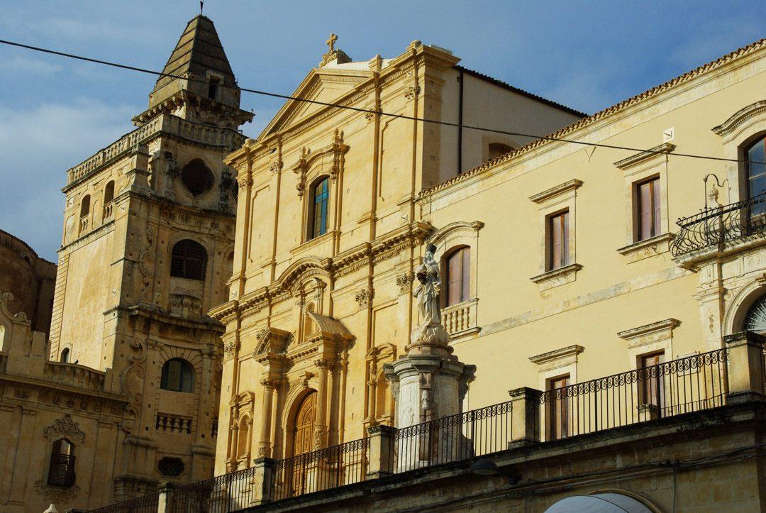 Centre ville de Noto - Sicile