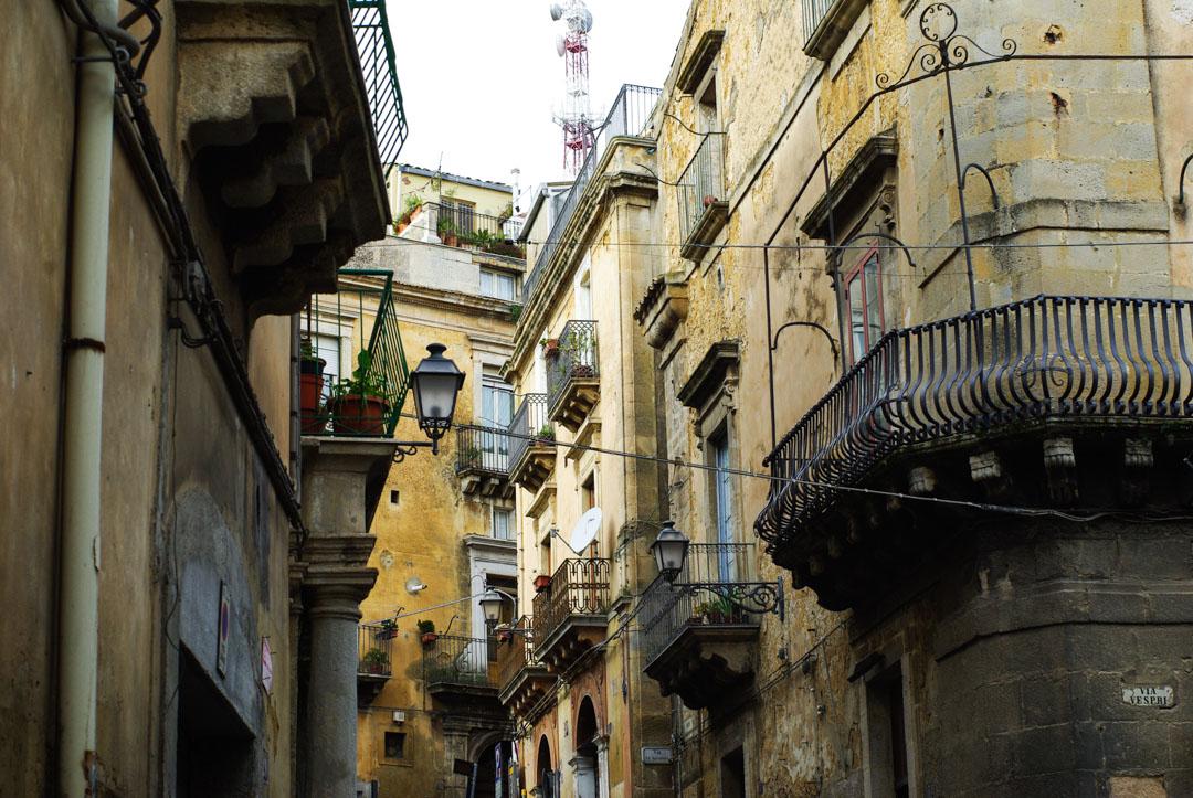 Caltagirone - ville baroque de Sicile