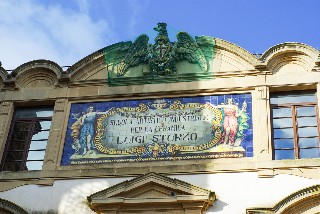 Ecole de la céramique de Caltagirone