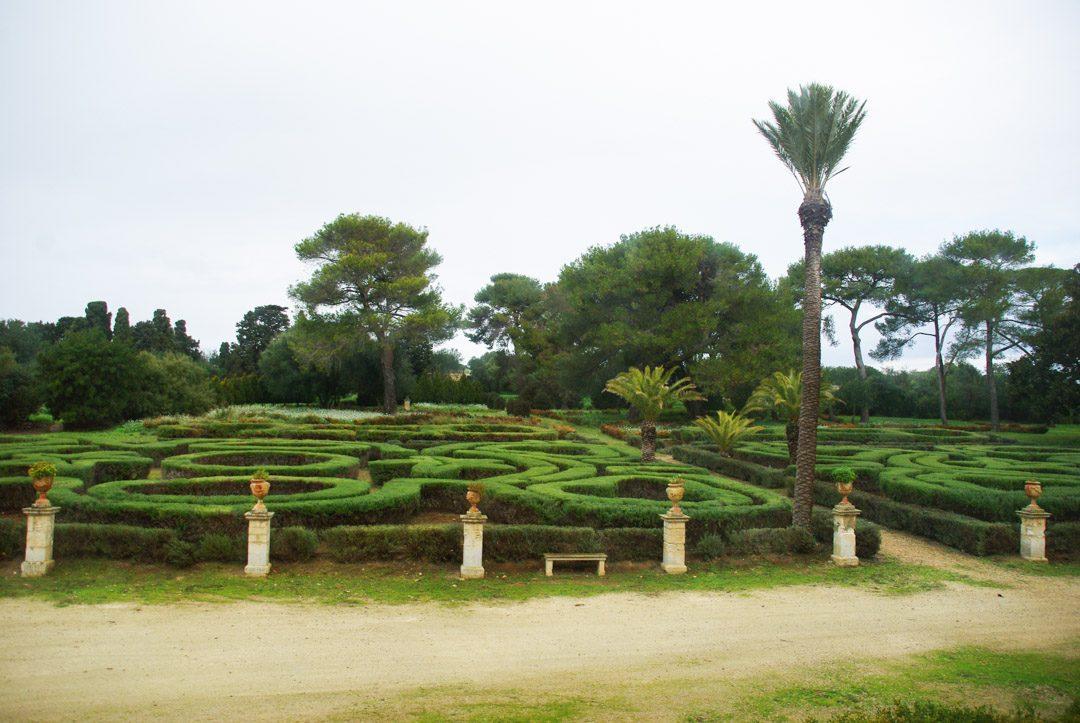 Parc du chateau de Donnafugata en Sicile