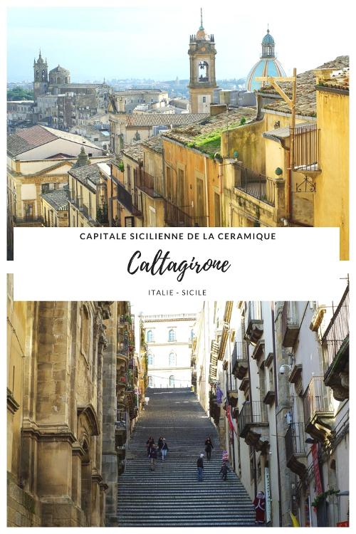 Que voir à Caltagirone ? La capitale de la Céramique en Sicile et ville baroque classée à l'UNESCO