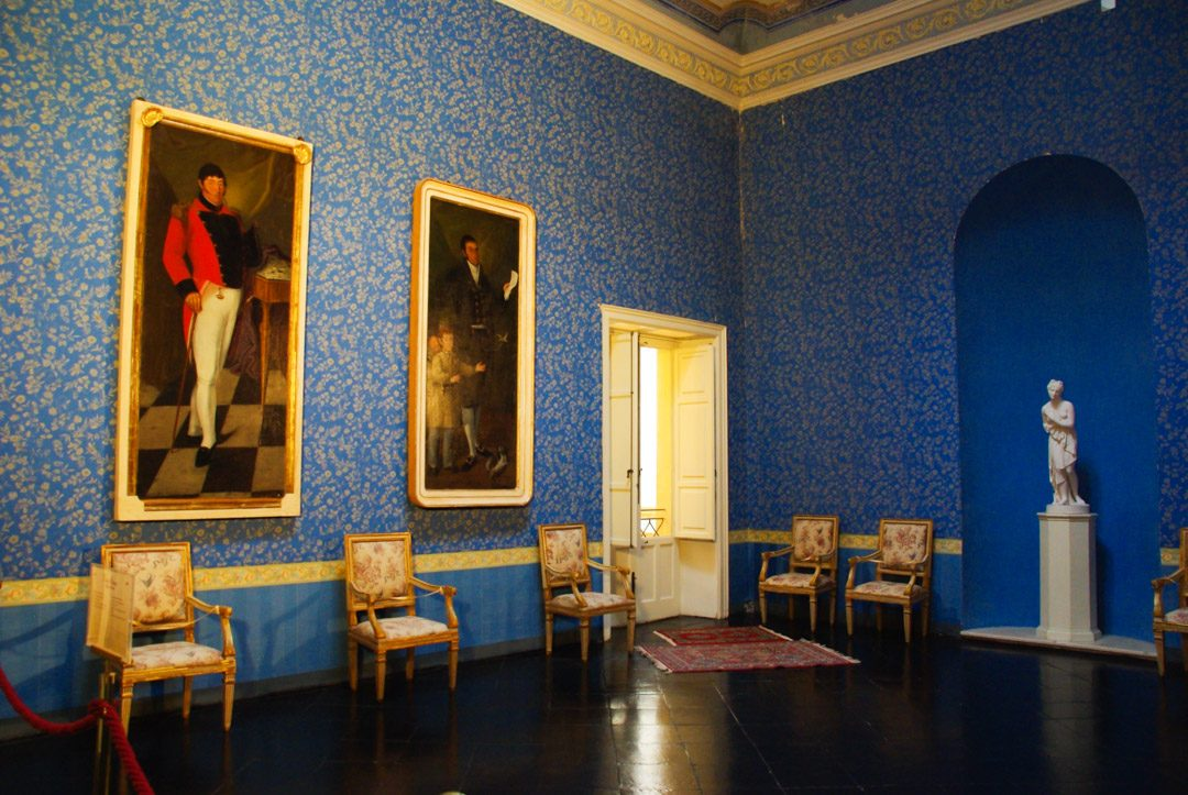 Intérieur du chateau de Donnafugata en Sicile