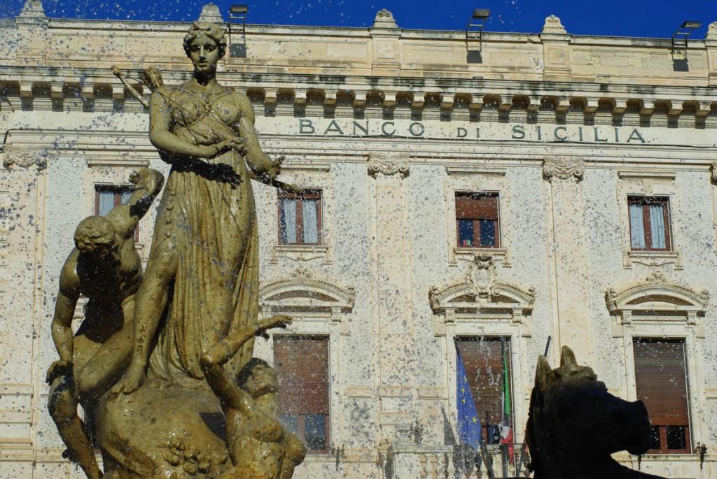 piazza Archimède - Syracuse