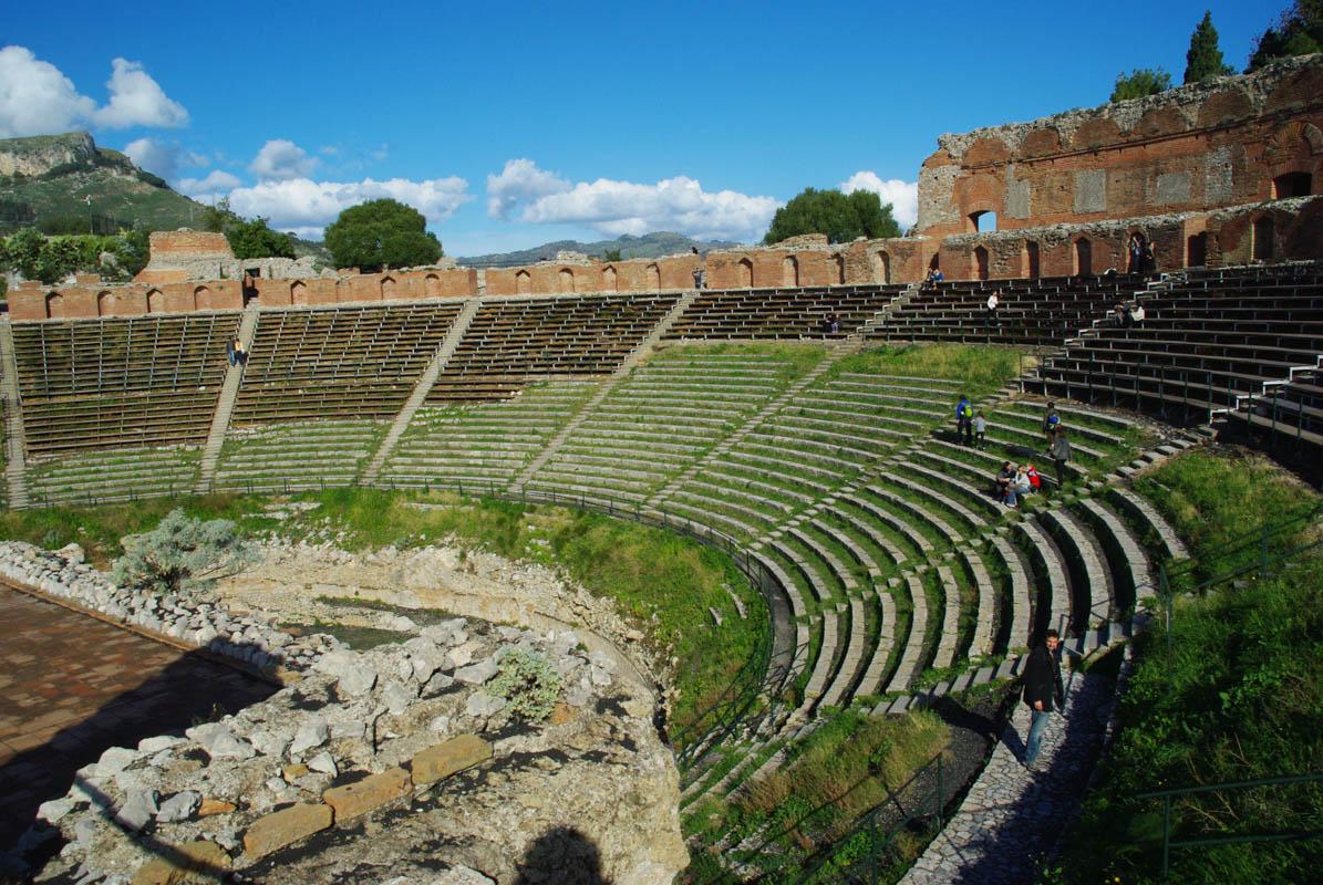 Théatre grec de Taormina