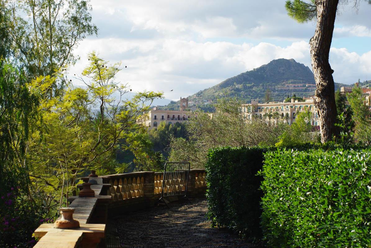 Jardin public de Taormina