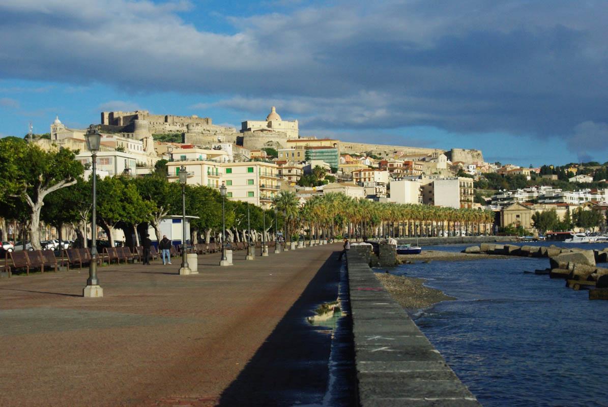 Le Port de Milazzo en Sicile