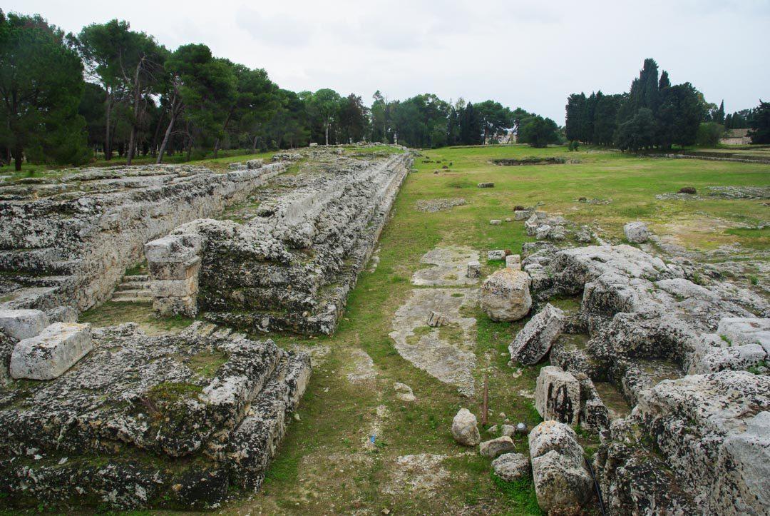 Autel monumental d'Hieron II à Syracuse