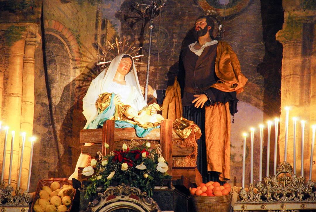Creche Eglise San Sebastiano - Acireale