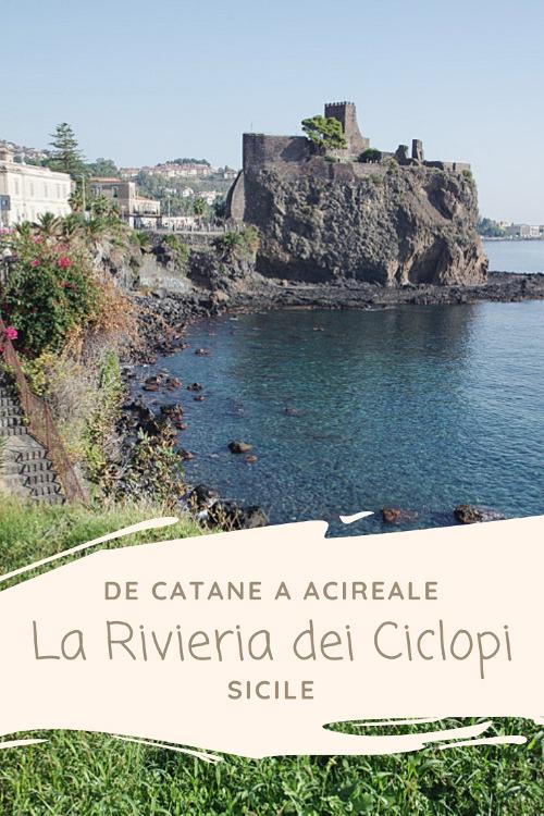 La riviera dei Ciclopi en Sicile