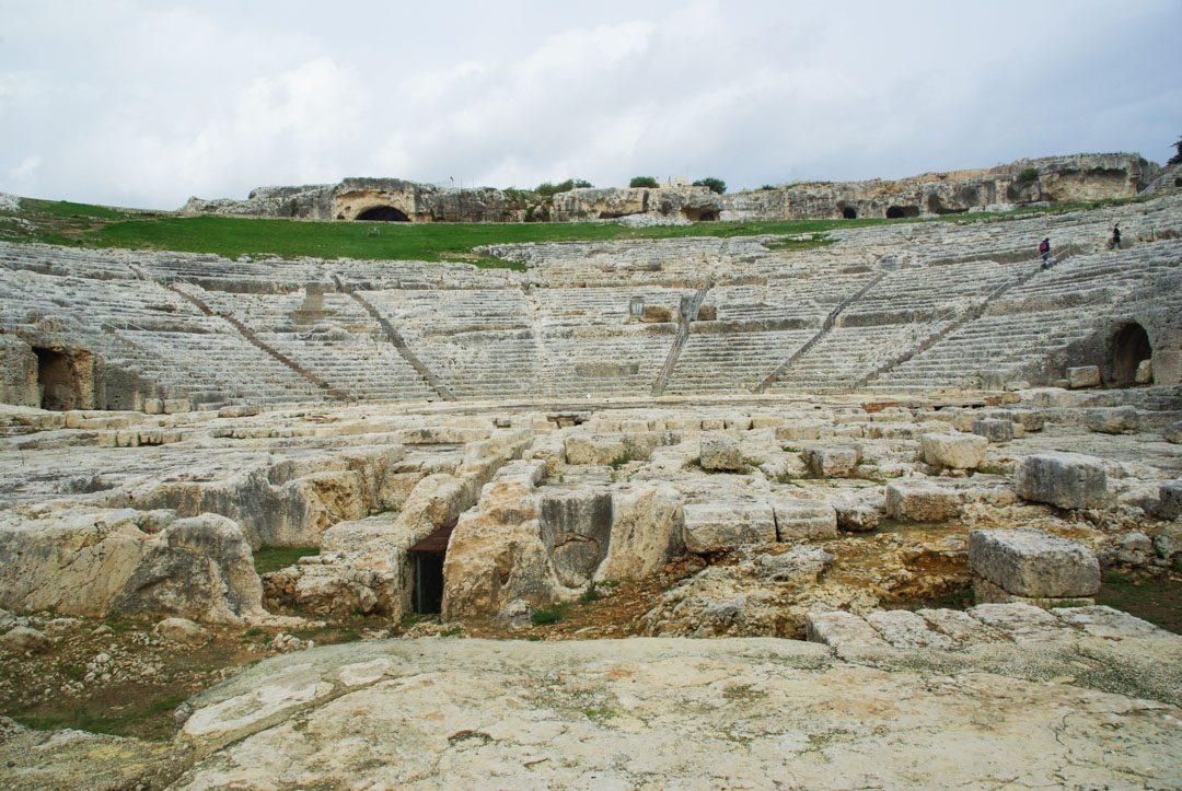Theatre archeologique de Syracuse