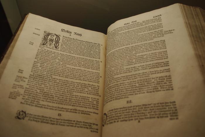livre ancien au musée national d'islande