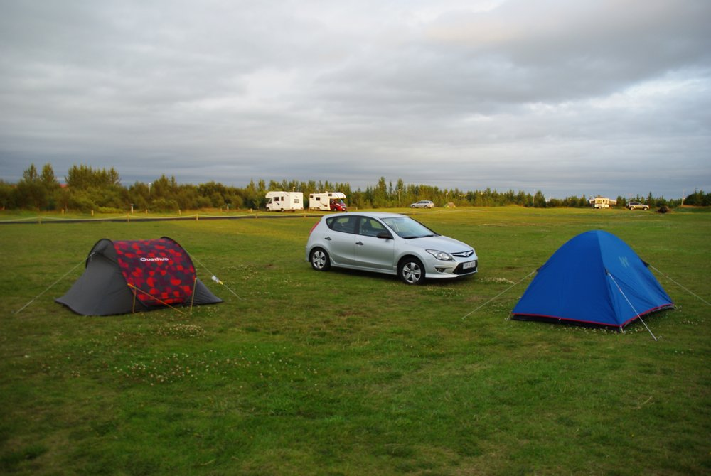 Camping de Selfoss - Islande