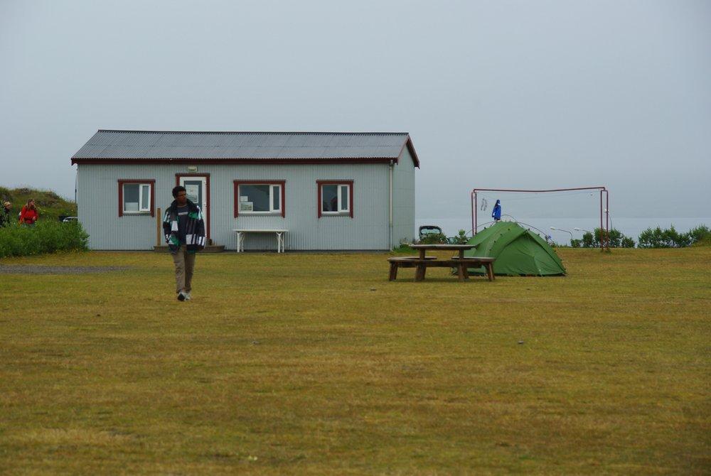 Bâtiment commun du camping de Djupigovur - Islande