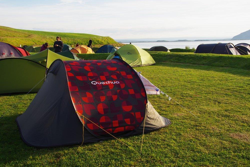 L'Islande en camping