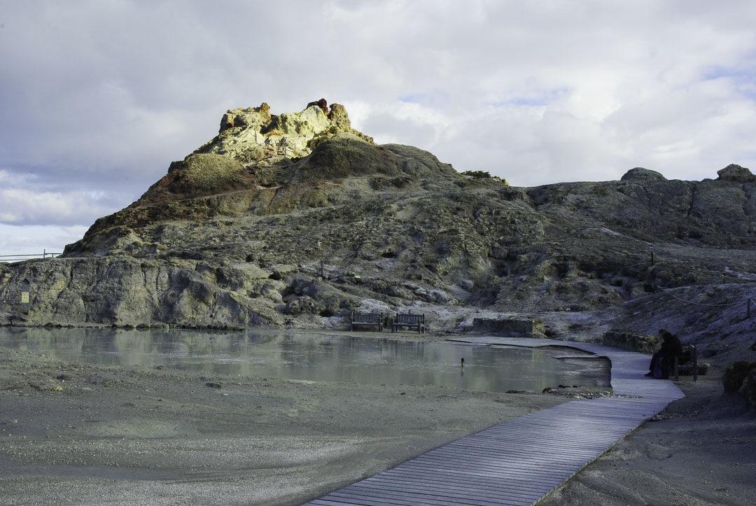 Les bains de Boue de Vulcano