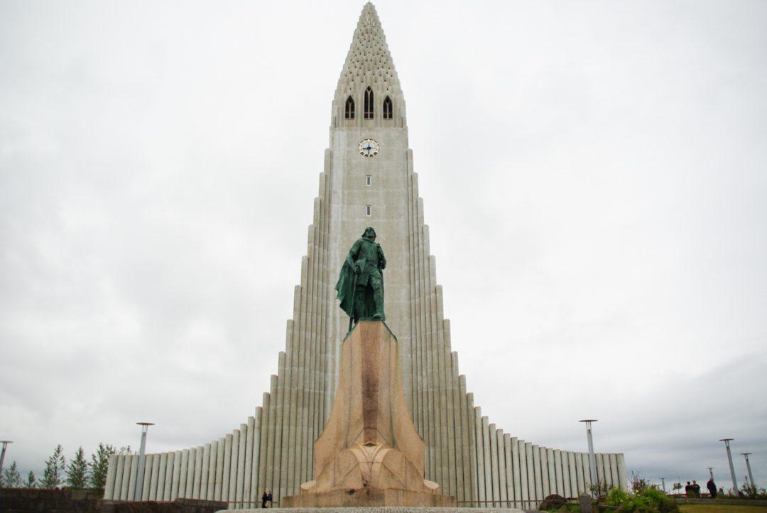 La Cathédrale en béton de Reykjavik