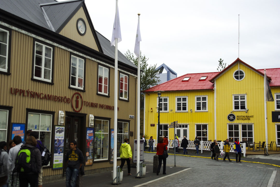 centre ville de Reykjavik
