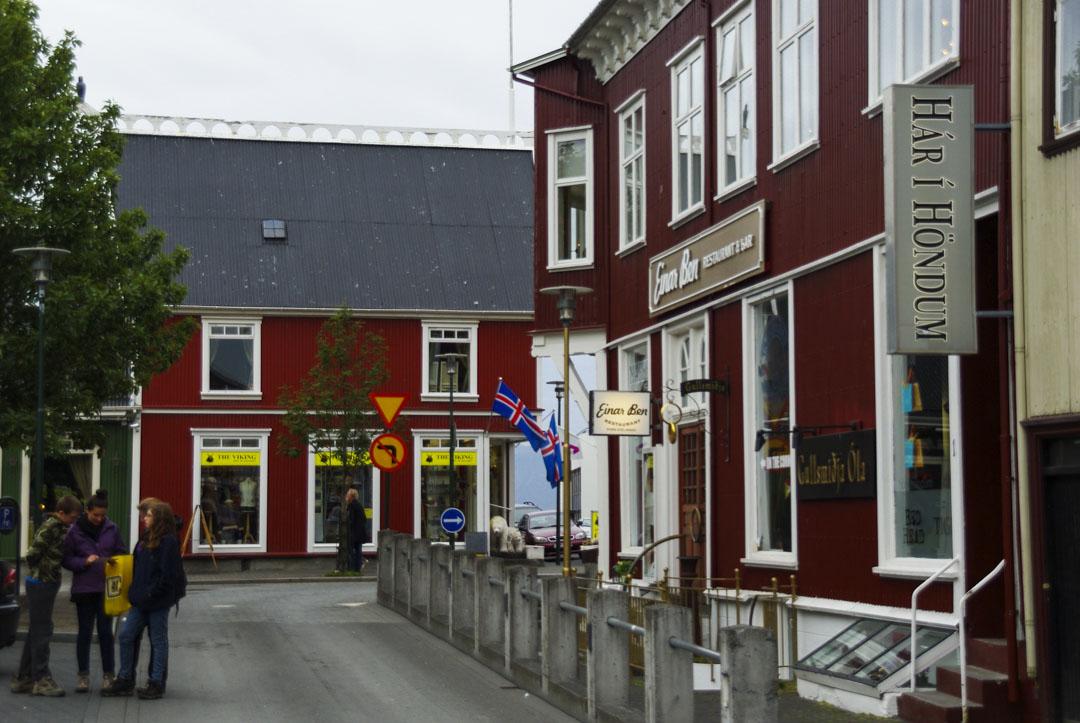 le centre ville de Reykjavik