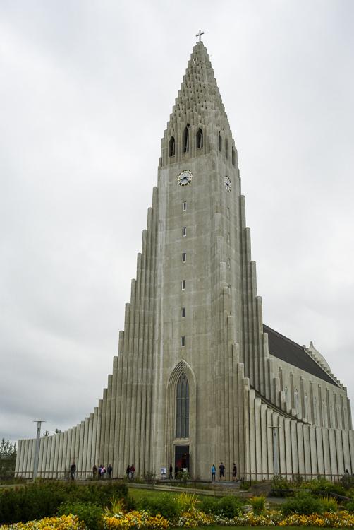 l'Eglise de béton de Reykjavik