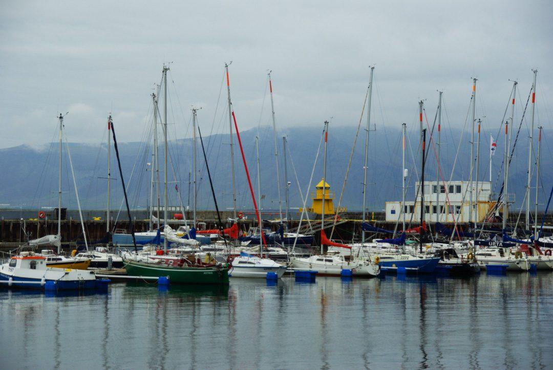 Le Port de plaisance de Reykjavik