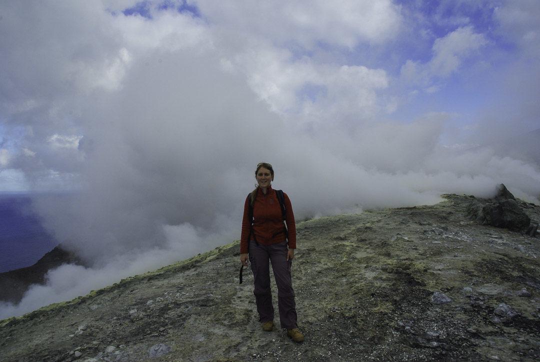 randonnée au sommet de Vulcano