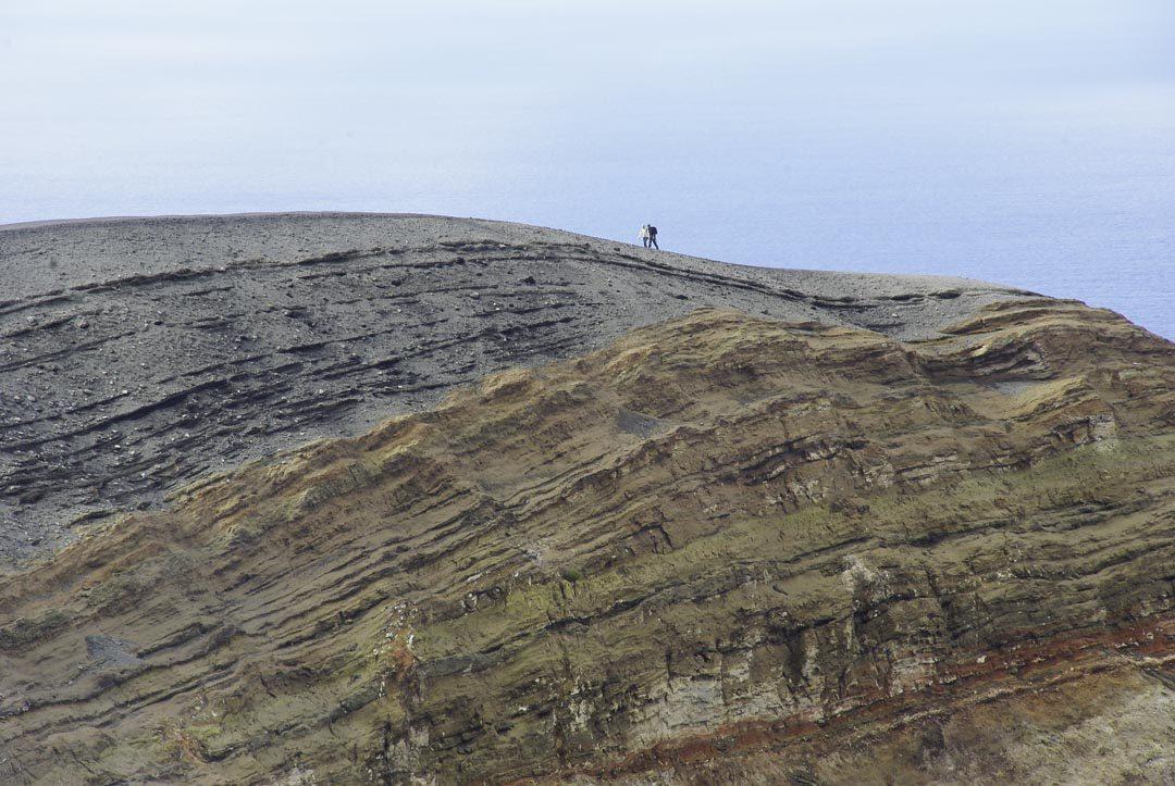 randonnee au cratere de Vulcano