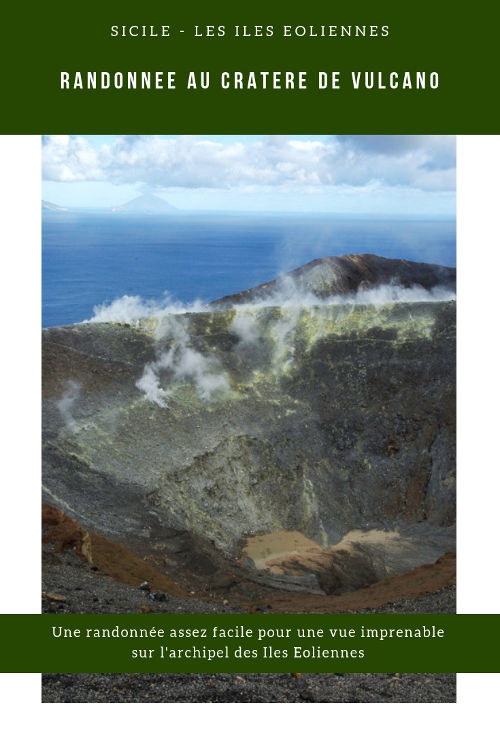 Randonnée au cratere de l'Ile de Vulcano