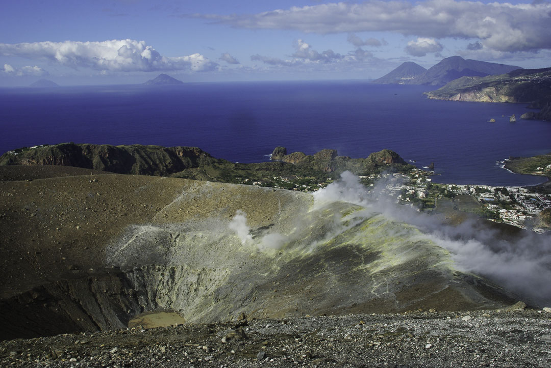 Sommet du Cratere de Vulcano