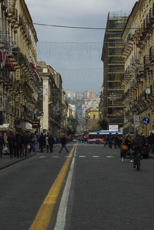 Via Etna - Catane