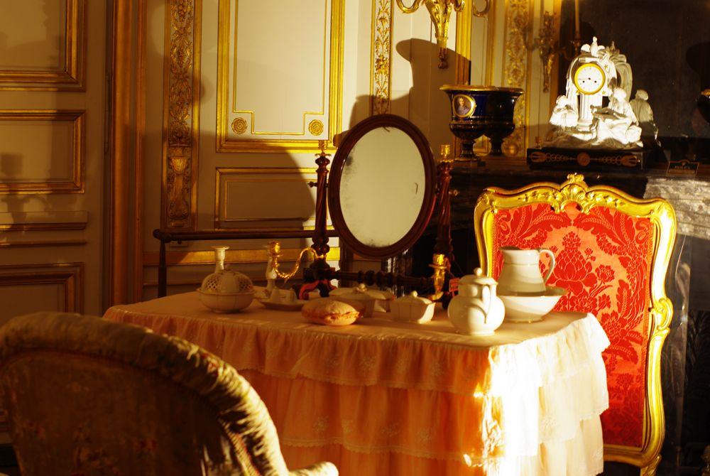 intérieur du chateau de fontainebleau