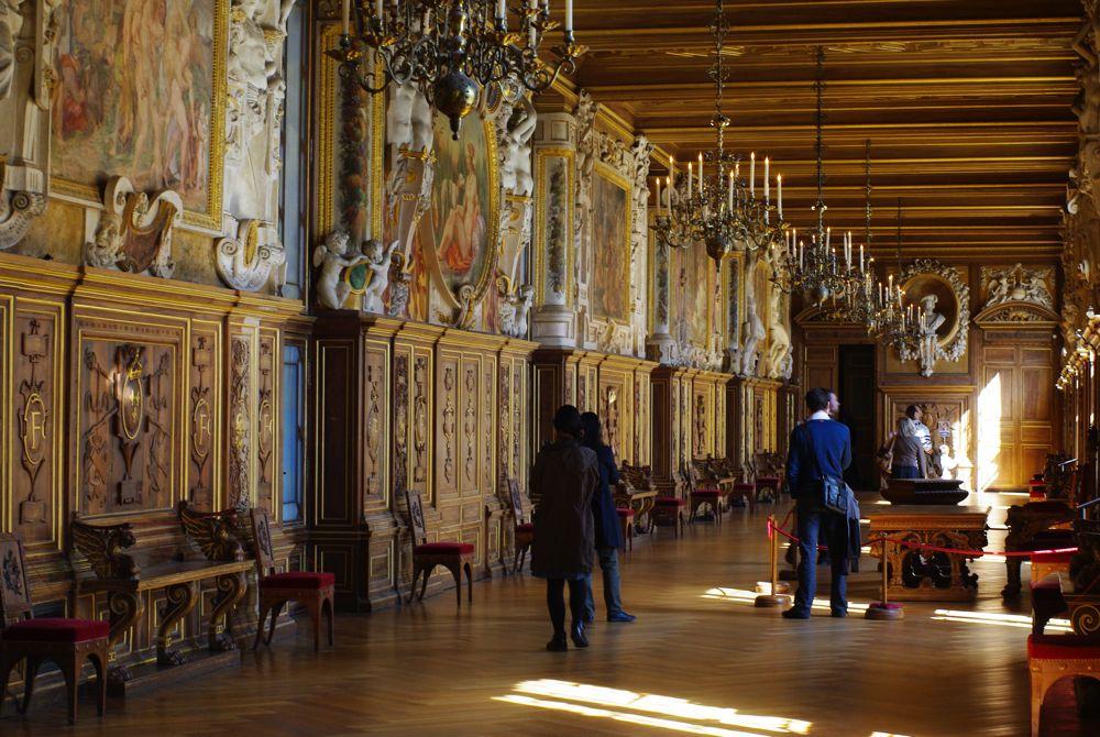 galerie françois premier - chateau de fontainebleau