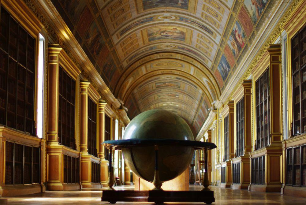 grande bibliothèque - chateau de fontainebleau