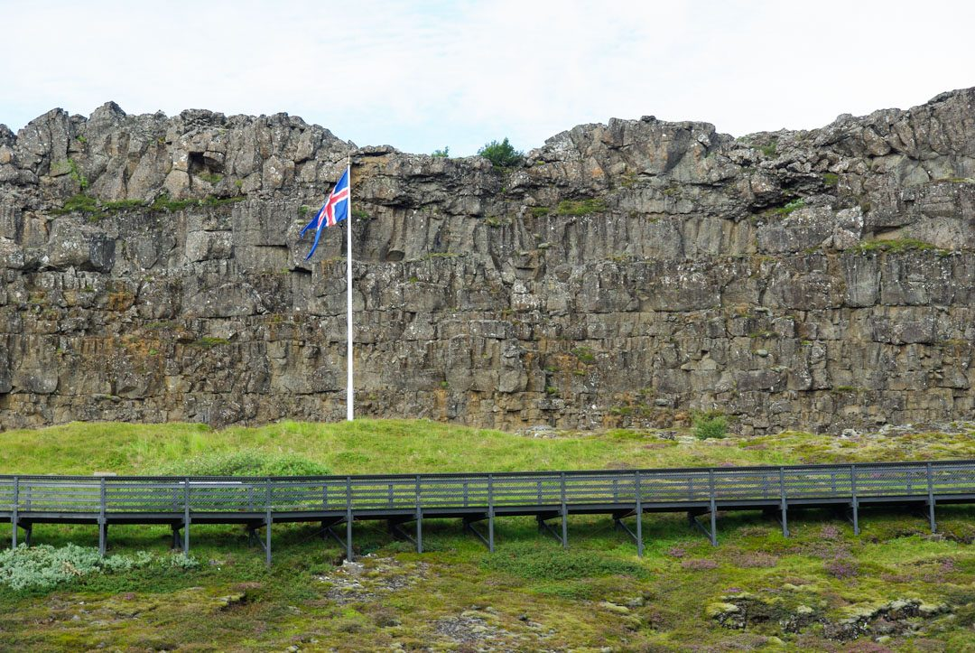 plaine du Parlement - Parc National de Thingvellir - Islande