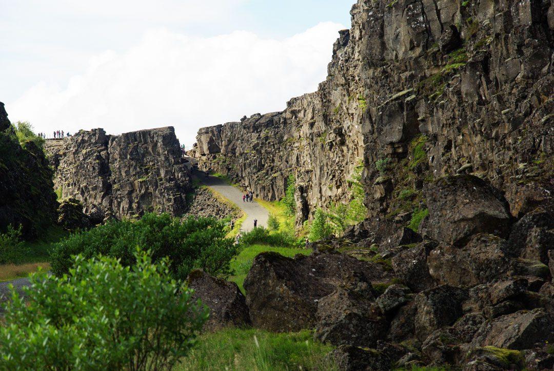 Dorsale océanique - Parc National de Thingvellir - Islande