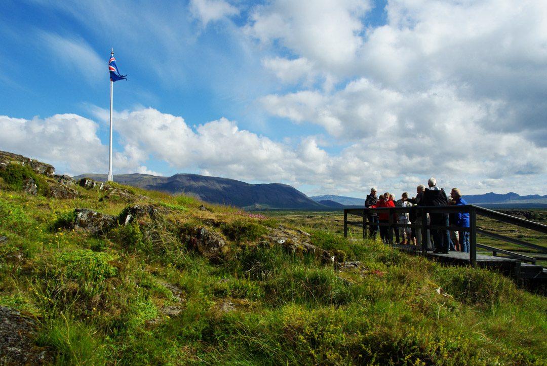 plaine du Parlement - Parc National de Thingvellir - Islande