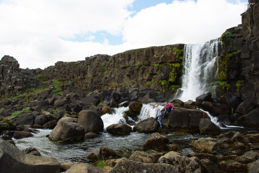 Cascade - Parc National de Thingvellir - Islande